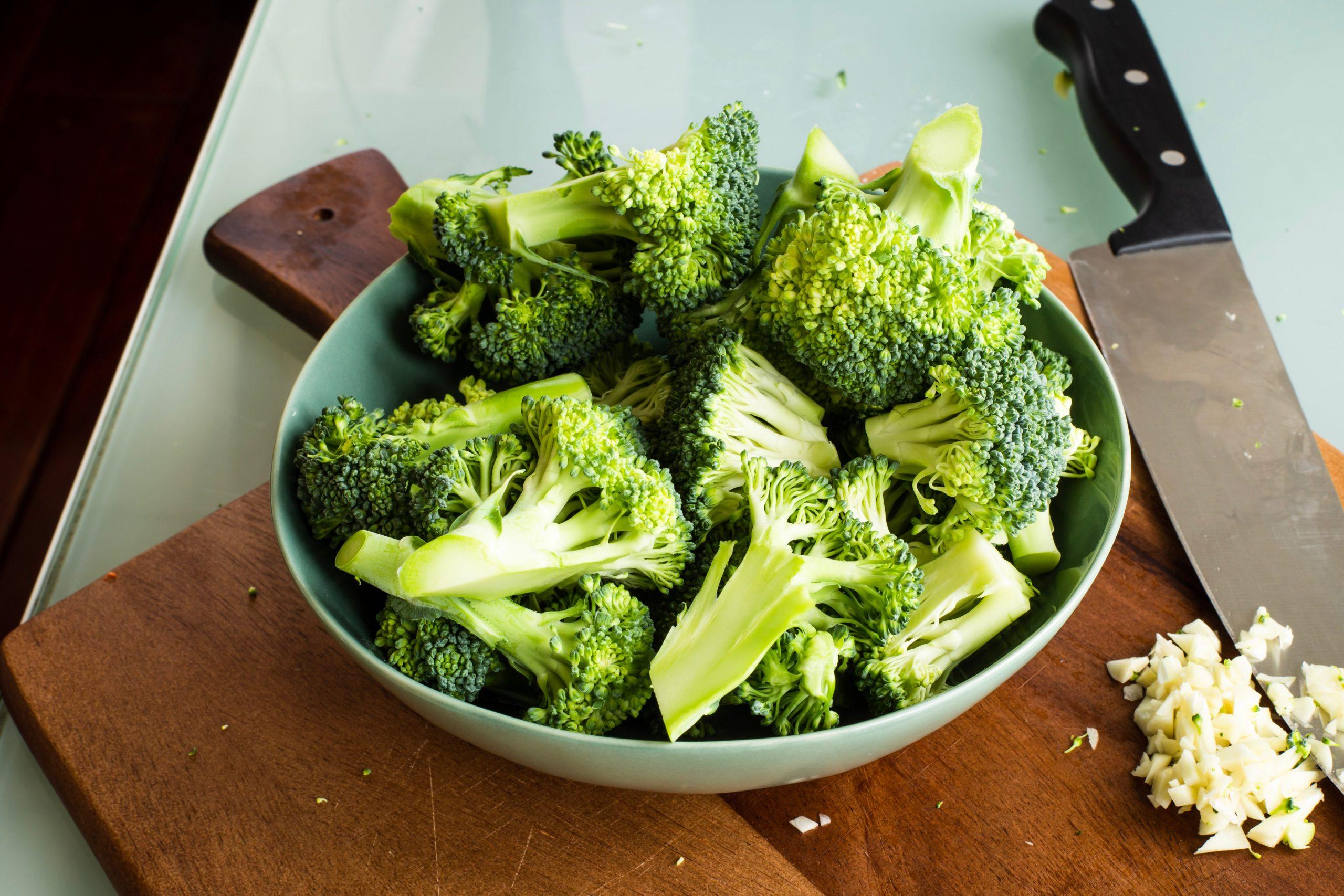 Broccoli als rijke bron van vitamine C