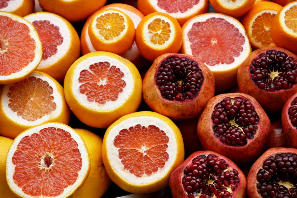 sinaasappels en vitamine c