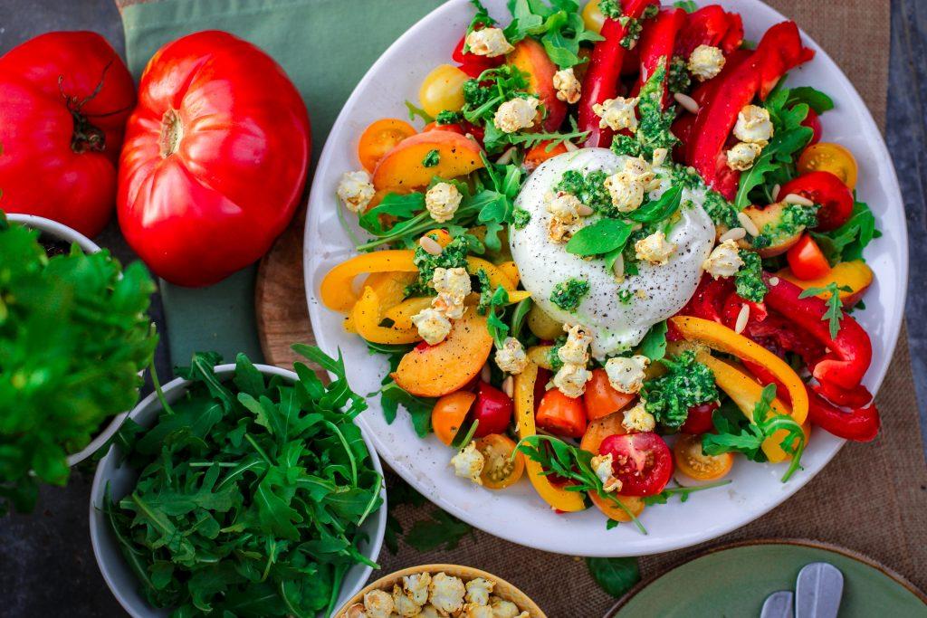 Voedingsbronnen met ijzer en vitamine C