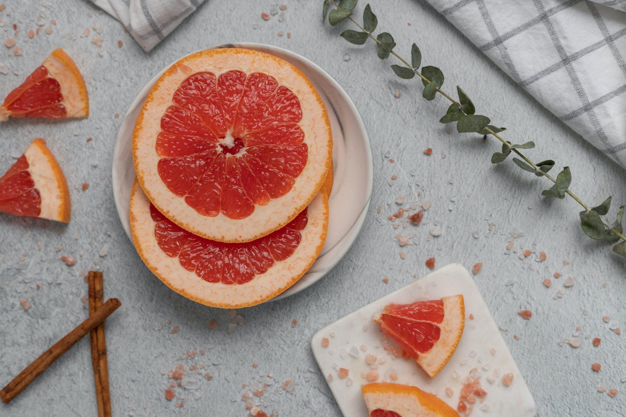Grapefruit met vitamine C