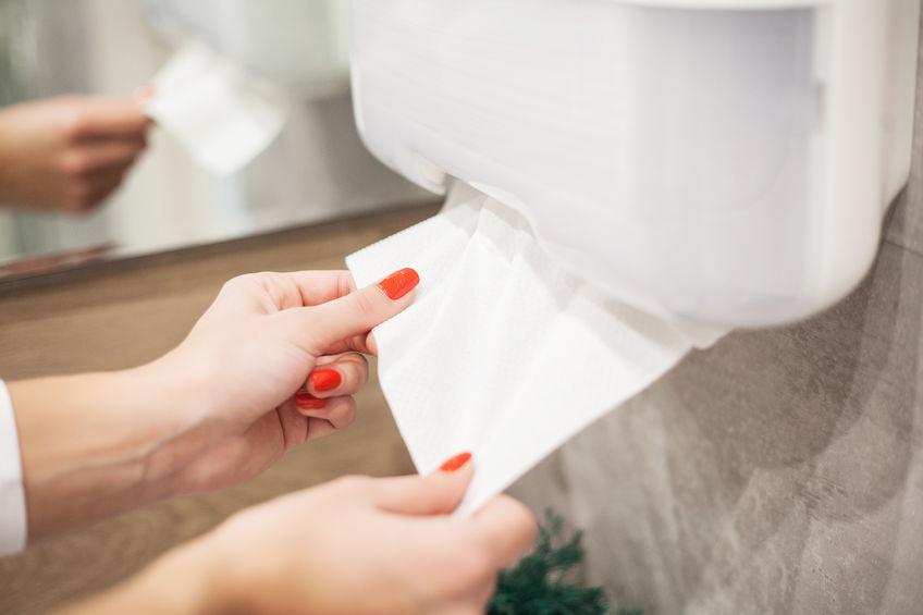 toiletpapier snijden